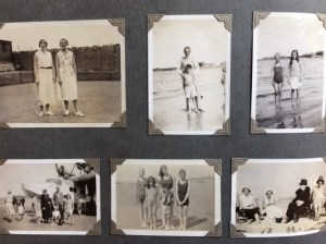 Page from one of Sheila's family's old albums