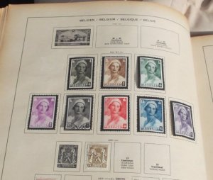 Queen Astrid stamps
