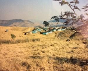 """The """"blue hut village"""""""