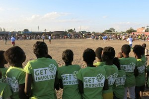 The football project in Zambia