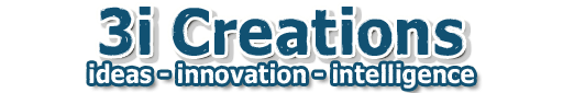 3i creations logo tag