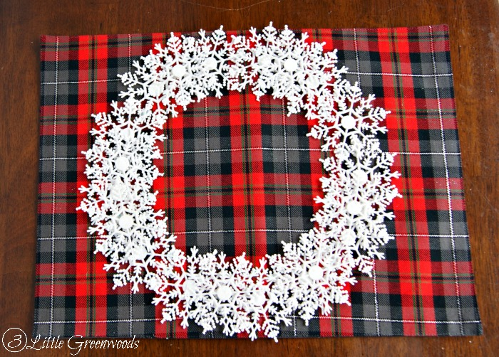 diy holiday plate craft