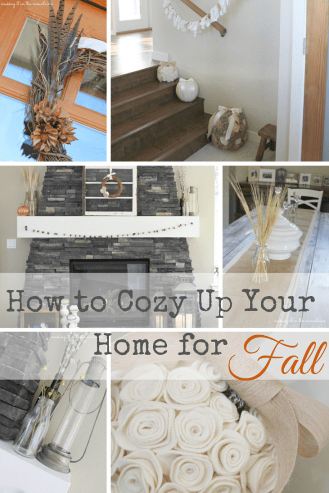 Summer Spotlight: Kristi from Making It In The Mountains - Cozy Up for Fall