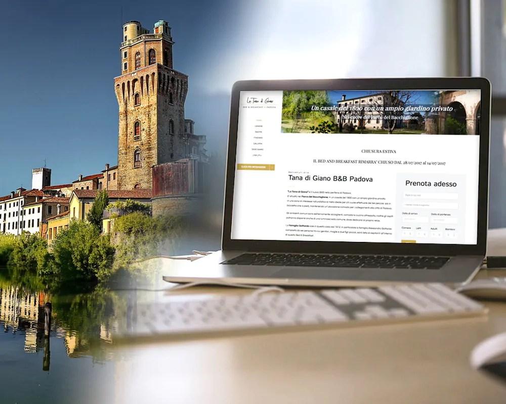 Sito web - web design - personalizzazione tema wordpress