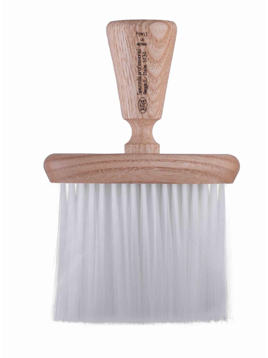 neck brush white nylon 1434