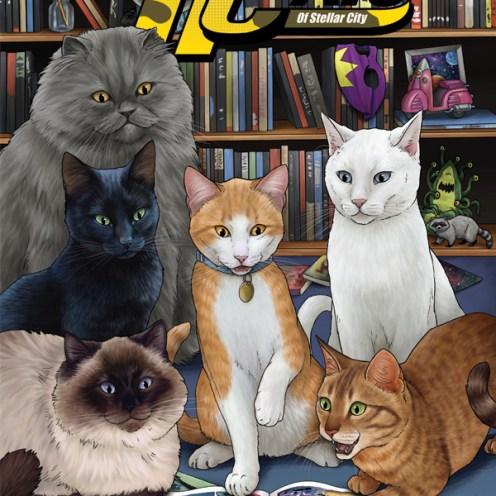 Hero Cats Vol. 5 Cover