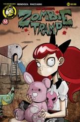 Zombie Tramp #35 Cover A Mendoza
