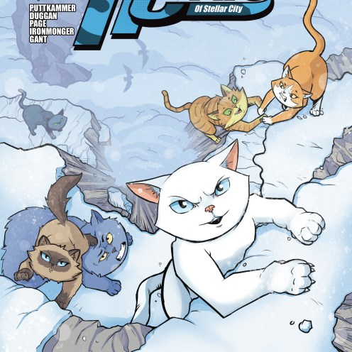 Hero Cats #19 Cover