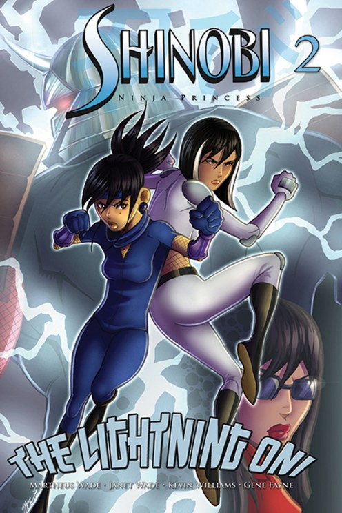 Shinobi Ninja Princess V2 #2 Cover