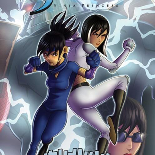 Shinobi Ninja Princess V2 #2 Cover