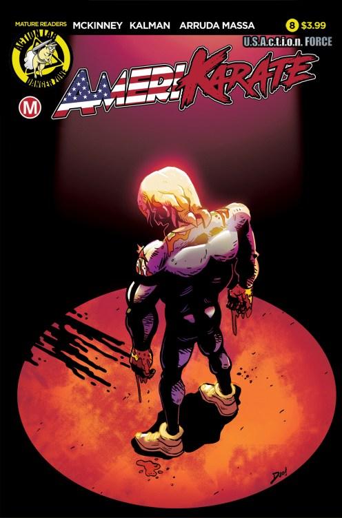 AmeriKarate #8 Cover A