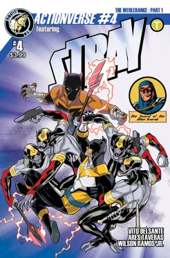 Actionverse #4 featuring Stray Cover A