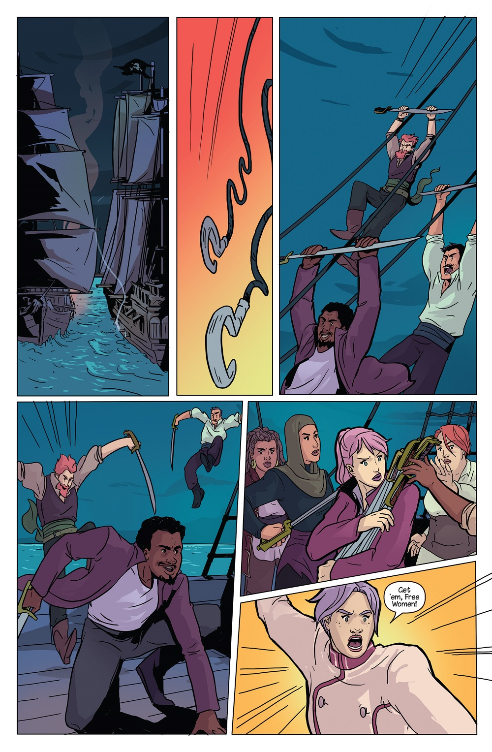 Raven Year 2 #2 Page 6