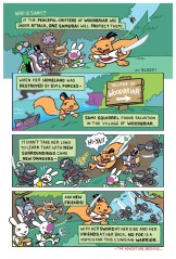 Sami the Samurai Squirrel Welcome to Woodbriar Page 1