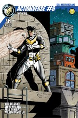 Actionverse #6 featuring Stray Cover B