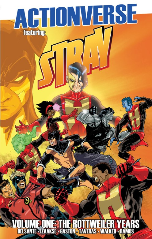 Actionverse Featuring Stray Volume 1 Cover