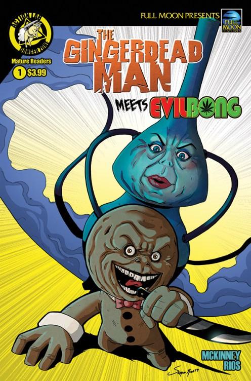 Gingerdead Man Meets Evil Bong #1 Cover