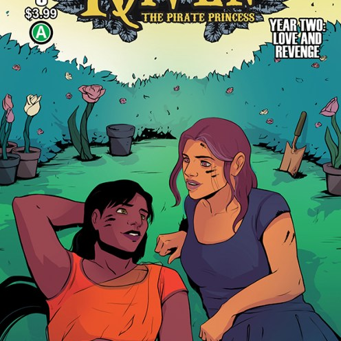 Raven Y2 #6 Cover