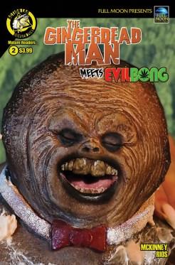 Gingerdead Man Meets Evil Bong #2 Cover B