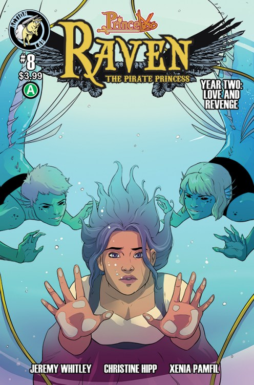 Raven Year 2 #8 Cover