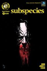 Subspecies #3 Cover B