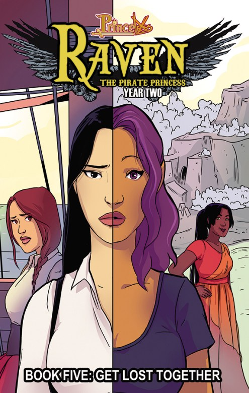 Raven Book 5 TPB Cover