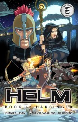 Helm Book 1 Harbinger Cover
