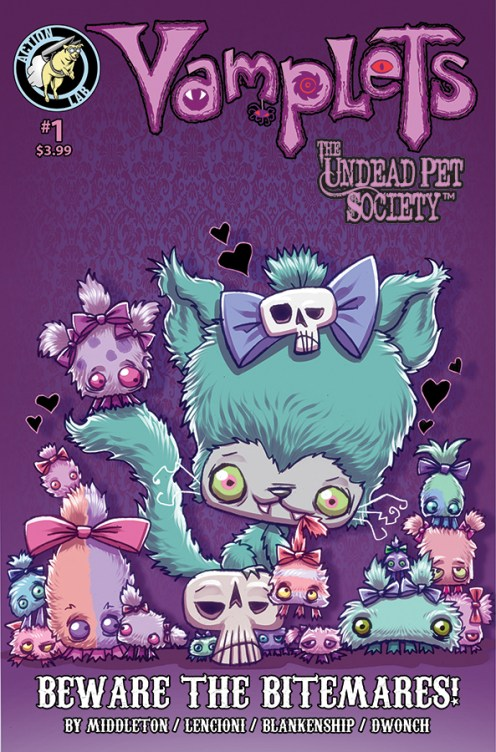 Vamplets Undead Pet Society #1 Cover A