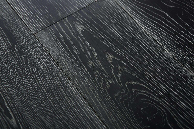 3 Oak Floor Product Black Washed