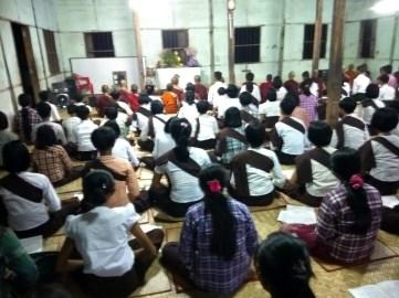 လေးတိုင်စင်ရွာ ဓမ္မဒူတ မှတ်တမ်းပုံရိပ်များ (၂၀၁၉)