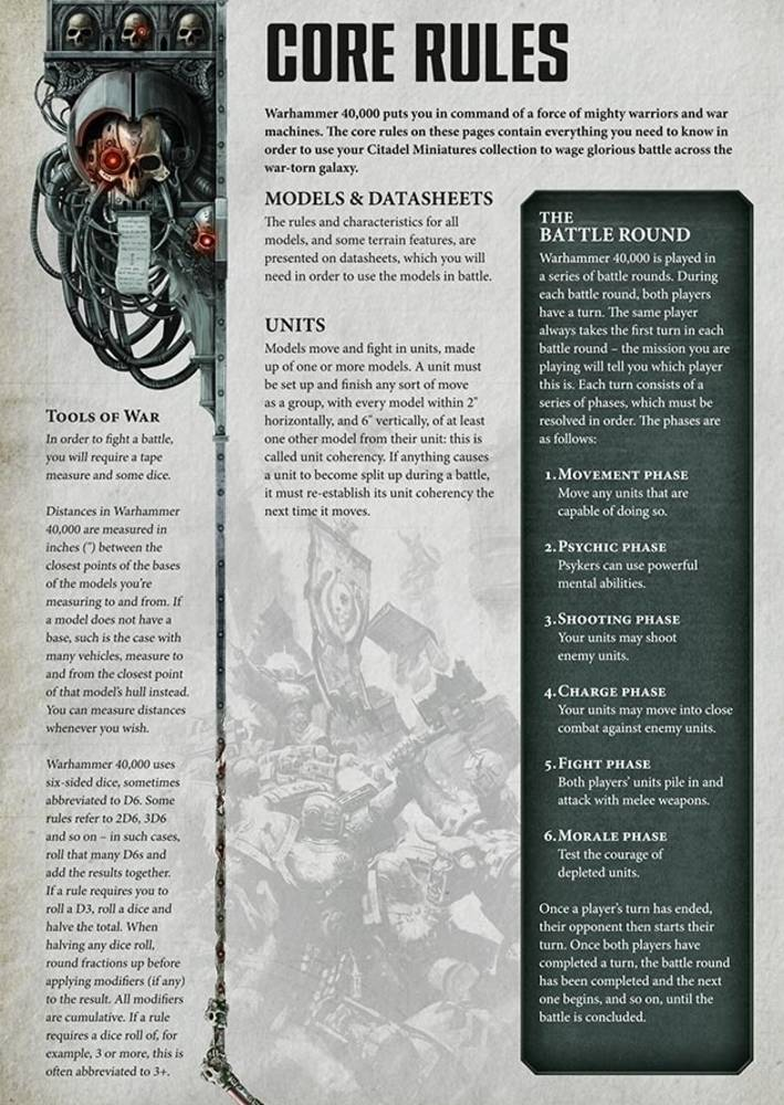 8th edition 40k - leaked Rules Pages - 3++