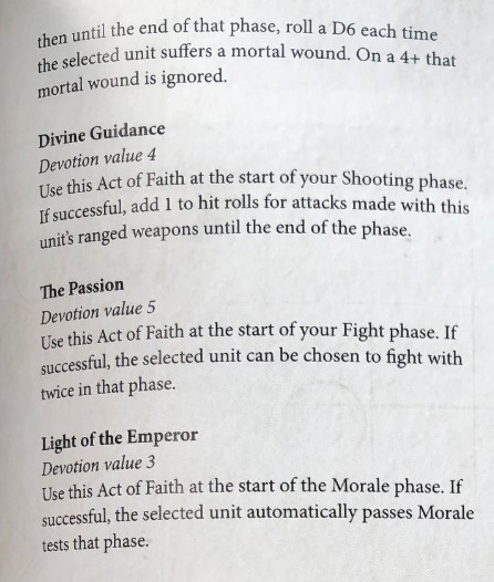 Sisters of Battle Beta Codex - First Impressions - 3++
