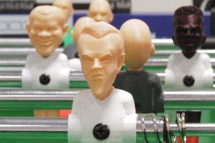 3D Printed Foosball_Robox_Rooney_Vardy_close
