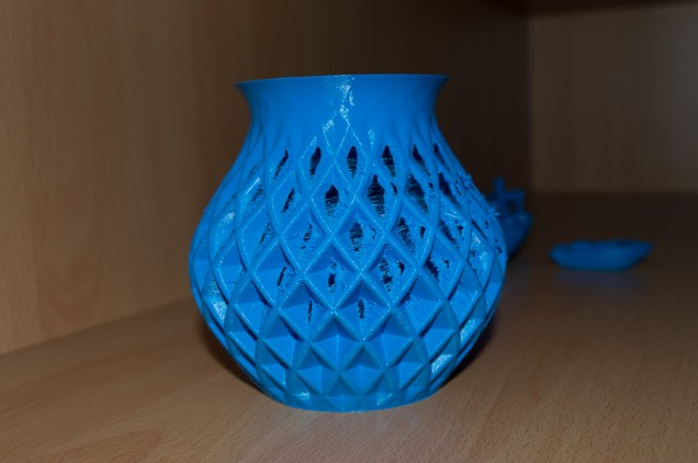 Back Side of Vase (not sufficient colled)