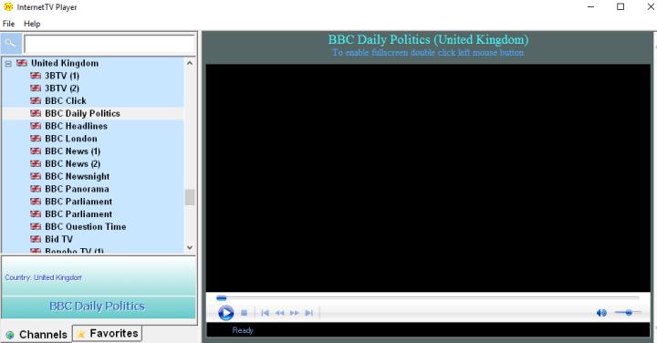 internet tv software