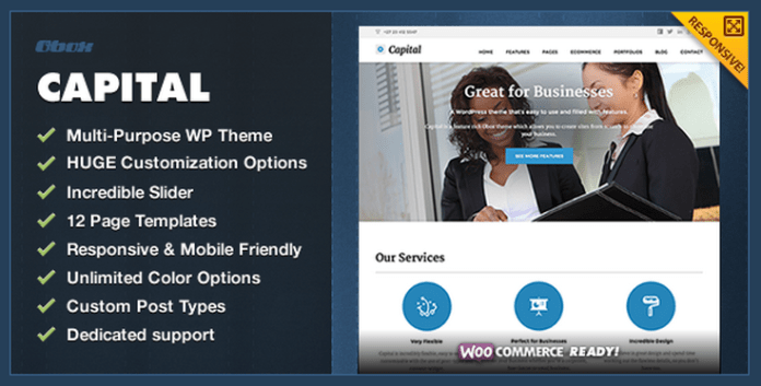 Capital Theme for wordpress
