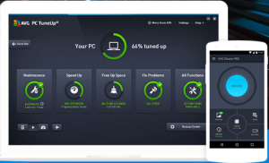 AVG PC Tune-Up app
