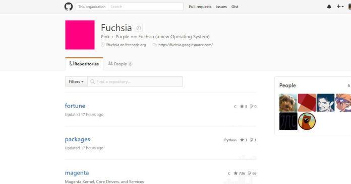 Fuchsia Google OS