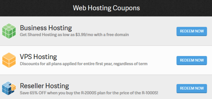 Latest inMotion hosting deals/coupons