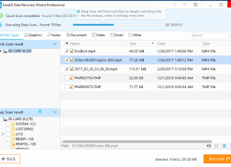 EaseUS data recovery wizard pro review and tutorials