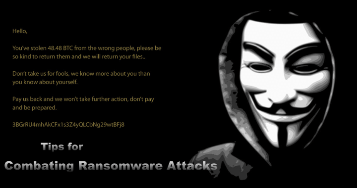 combating ransomware attacks
