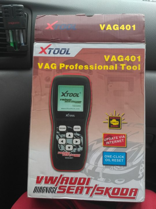 Xtool VAG401 OBD scanner review and unboxing