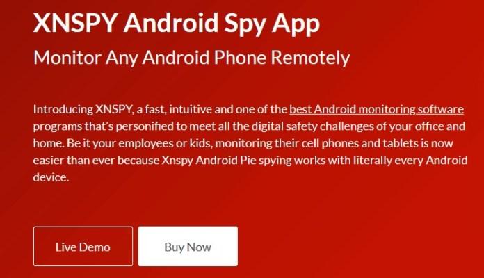 Xnspy app