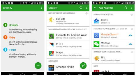 greenify featured as a top after-root app
