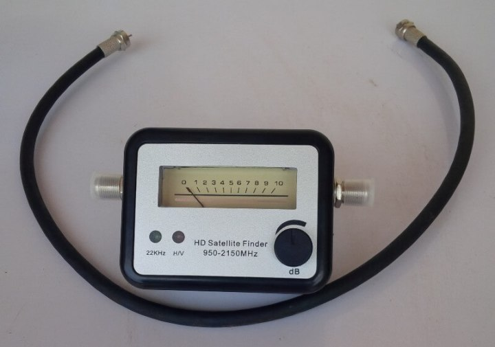 OcDay GSF-9502 FTA digital satellite signal finder review