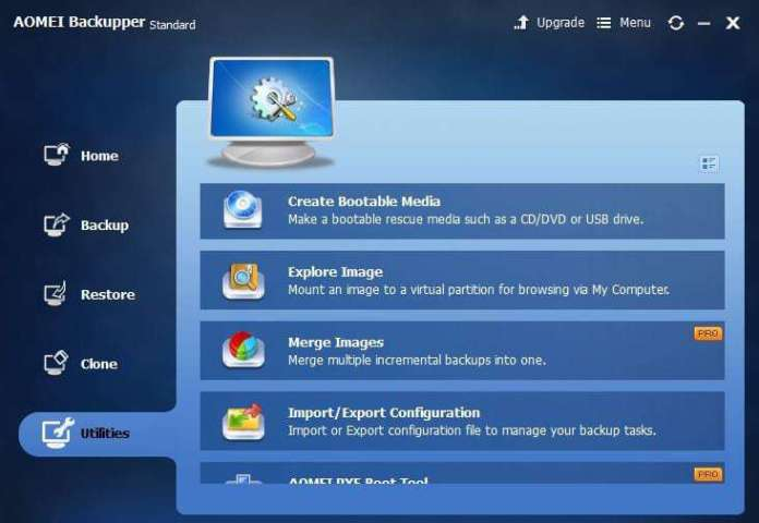 Review of AOMEI Windows backup tool