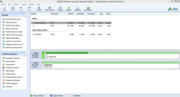 AOMEI Partition Assistant 6.6 Review