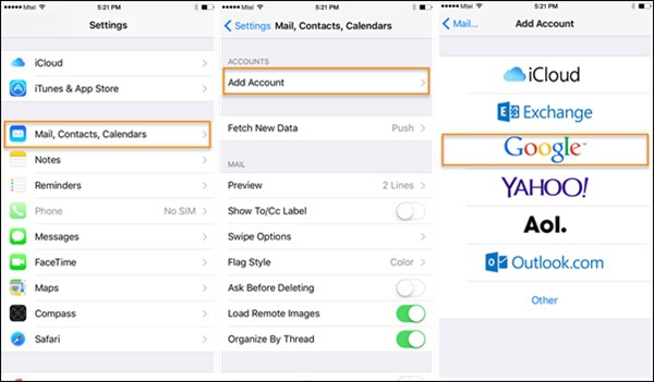 Gmail Contacts tutorial