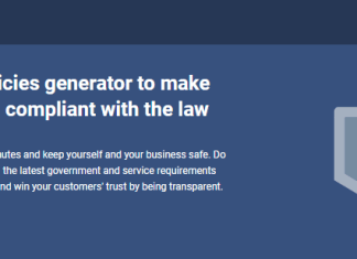 Free GDPR Privacy Policy Generator