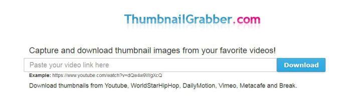 Video Thumbnail Grabber